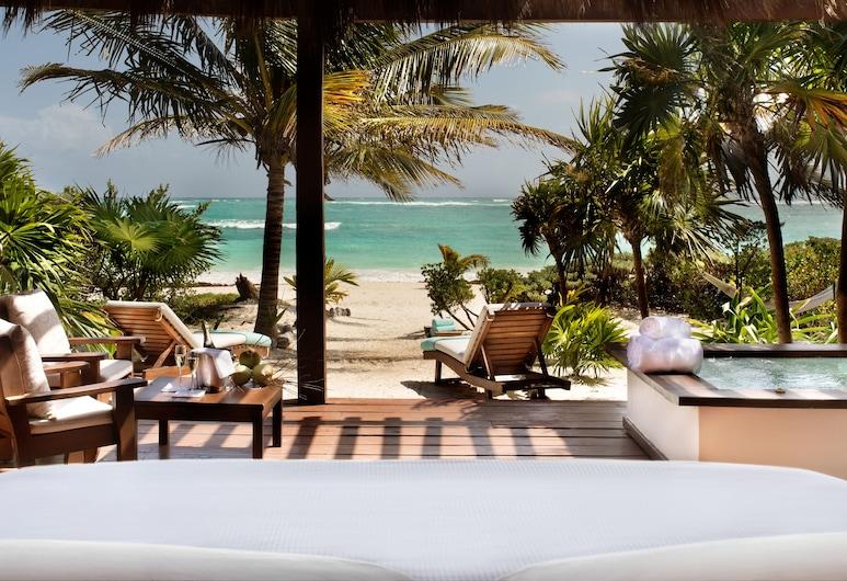 Mukan Resort, South of Tulum, Punta Allen, Beachfront  Master Villa, Terrass