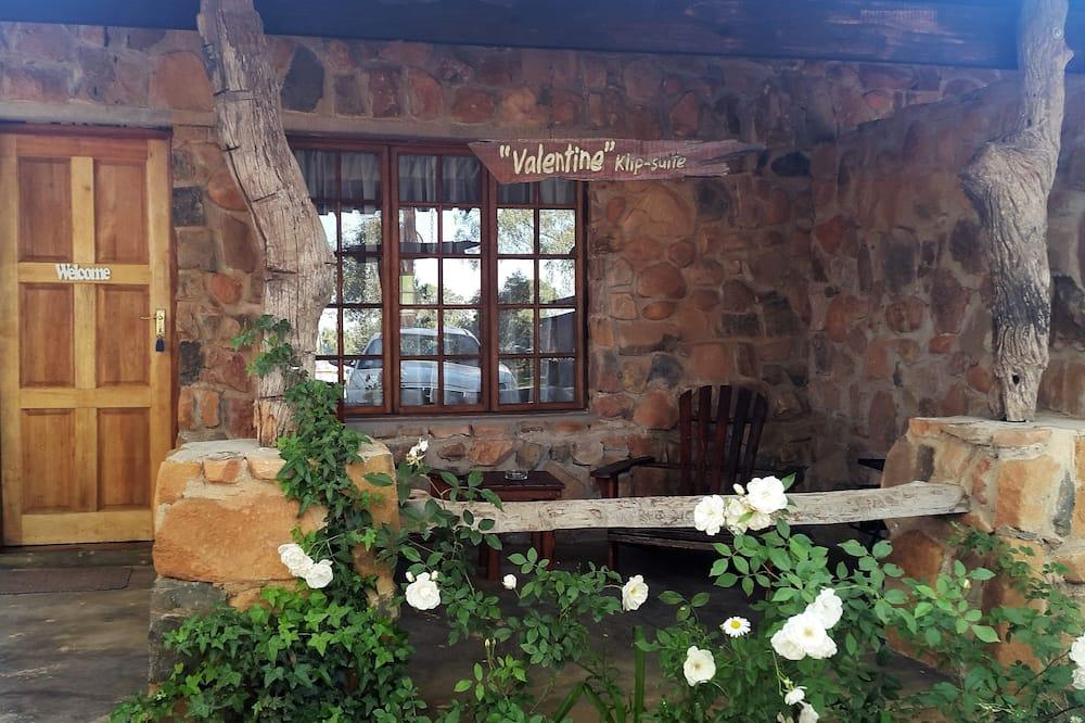 Suite romántica, 1 habitación (Valentine Klip-Suite) - Terraza o patio