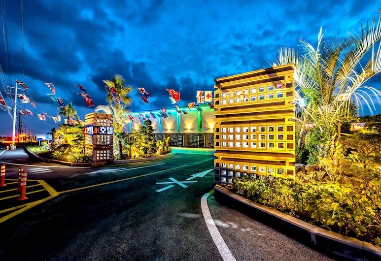 JK Drive In Hotel, Seogwipo, Exteriér
