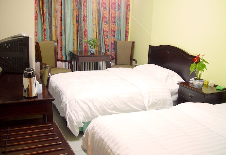 365 inn - Hostel, Beijing, Superior twin bed private room , Guest Room