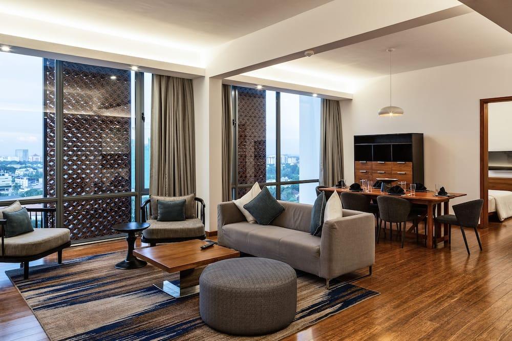 Apartamento, 3 habitaciones, cocina - Zona de estar