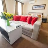 Išskirtinio tipo kambarys - Svetainės zona