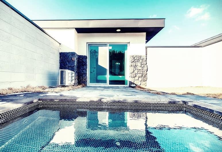 索蘭泳池別墅酒店, Jeju City, 客房 (Sorang B, Private Garden Mini Pool)