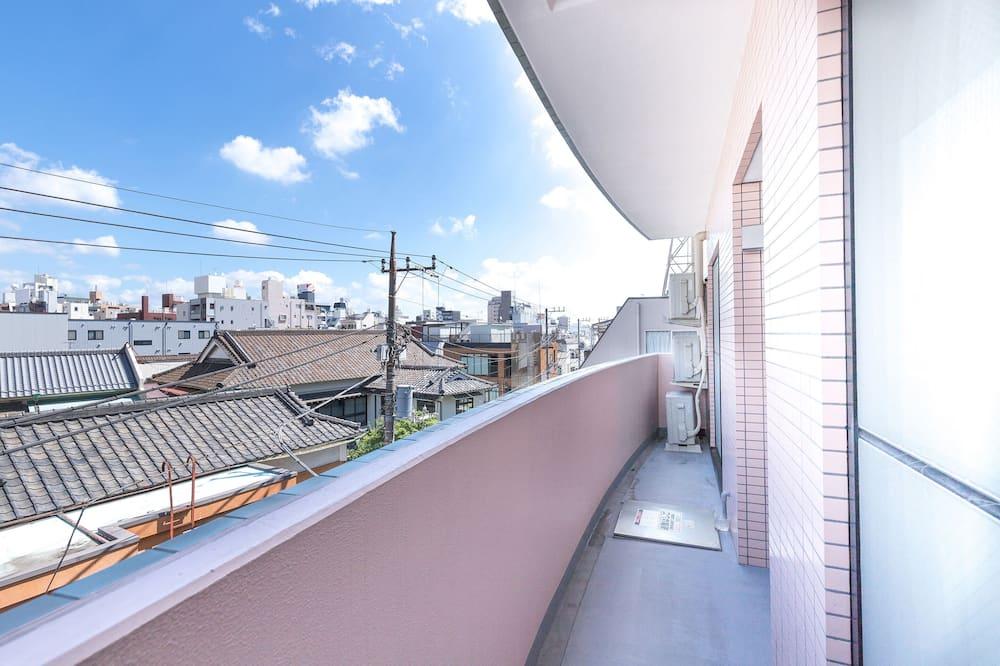 Четырехместный номер, для некурящих - Вид с балкона