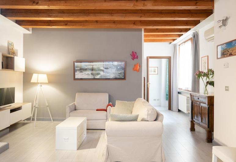 Residence delle Oche, Bologna, Apartment, Ground Floor, Living Area