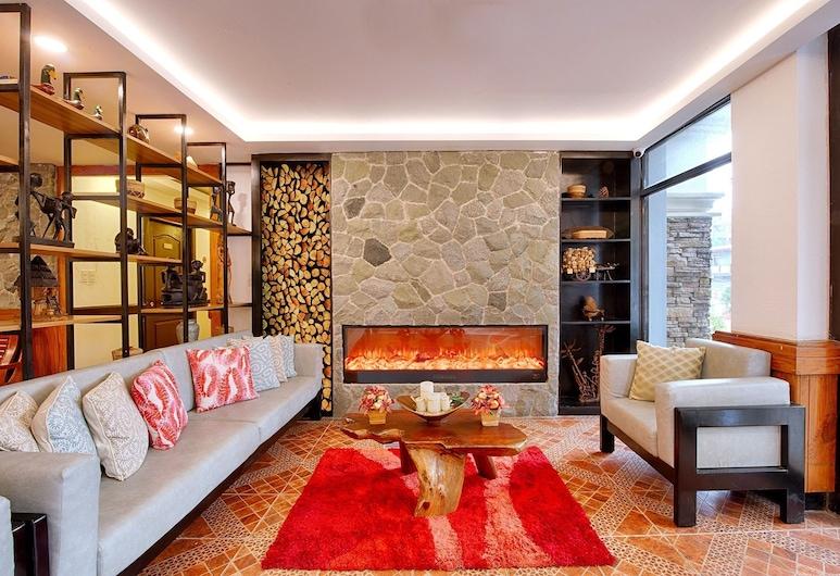 Hotel Henrico Kisad, Μπαγκούιο, Λόμπι