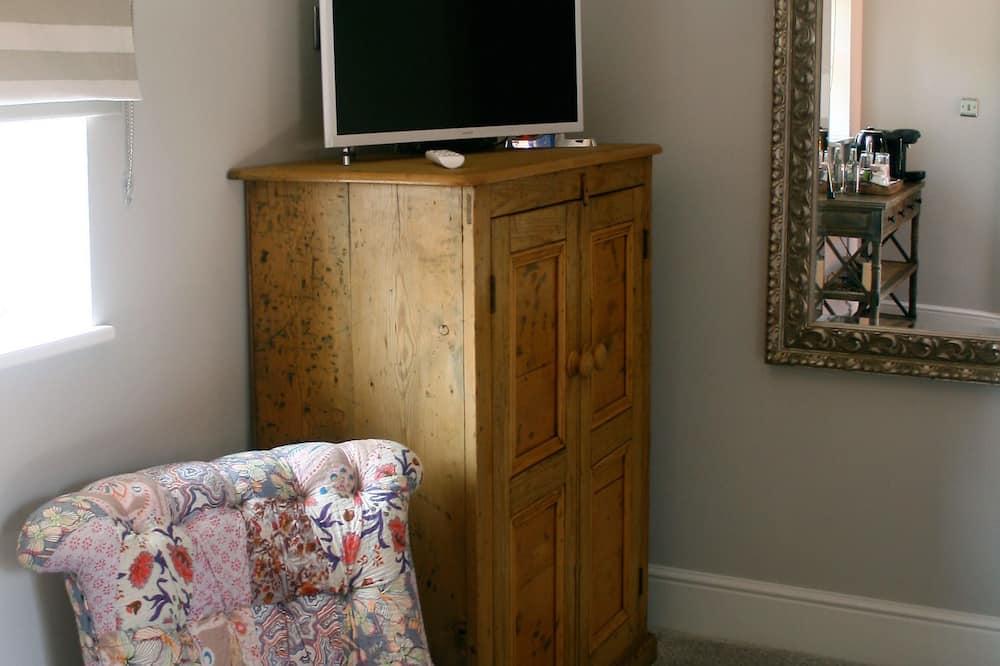 高級雙人房, 1 張特大雙人床 (The Tack Room) - 客廳