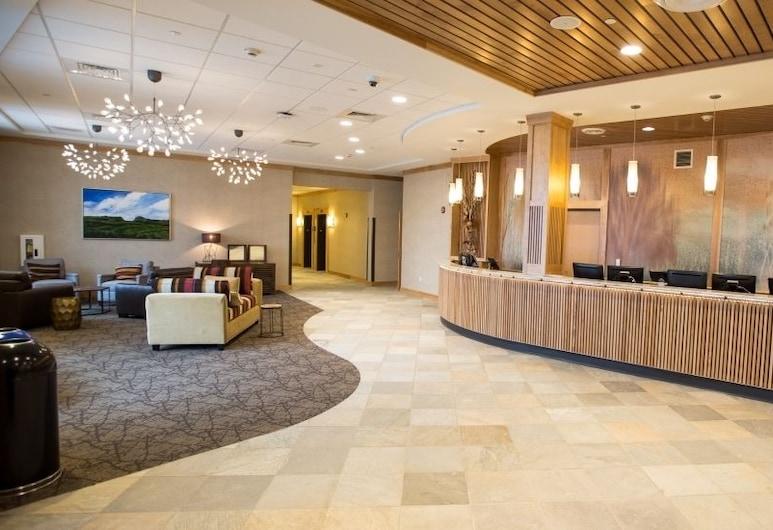 Burke Mountain Hotel & Conference Center, East Burke, Recepcia
