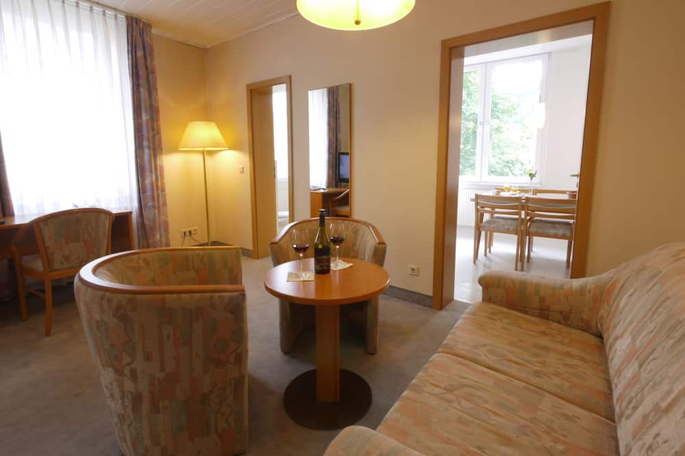 Appartment Mosel 1 Person - Svečių kambarys