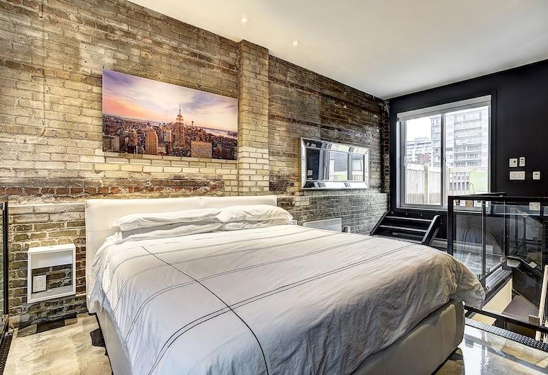 Hotel Milton-Parc, Montréal, Appartement, 2 chambres (1303), Chambre