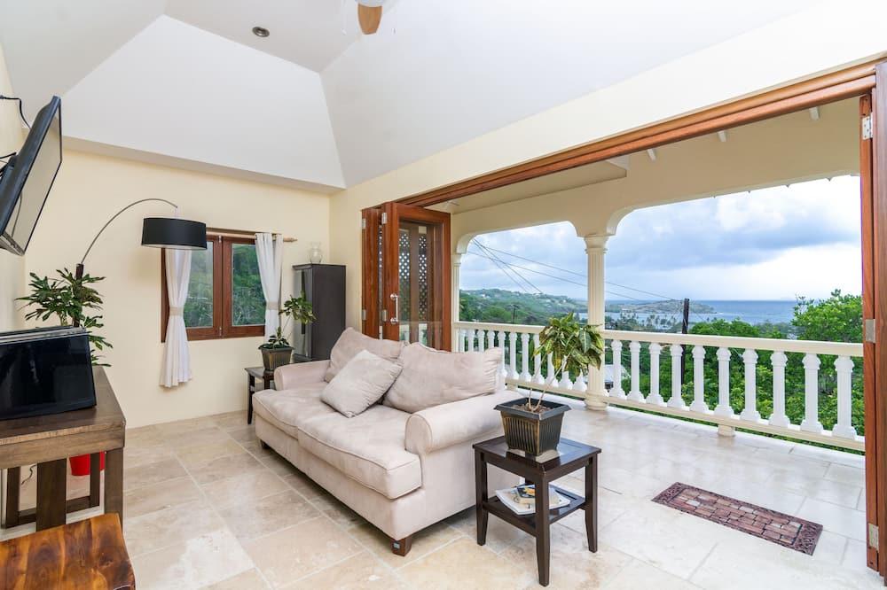 Villa Luxe, vue océan - Salle de séjour