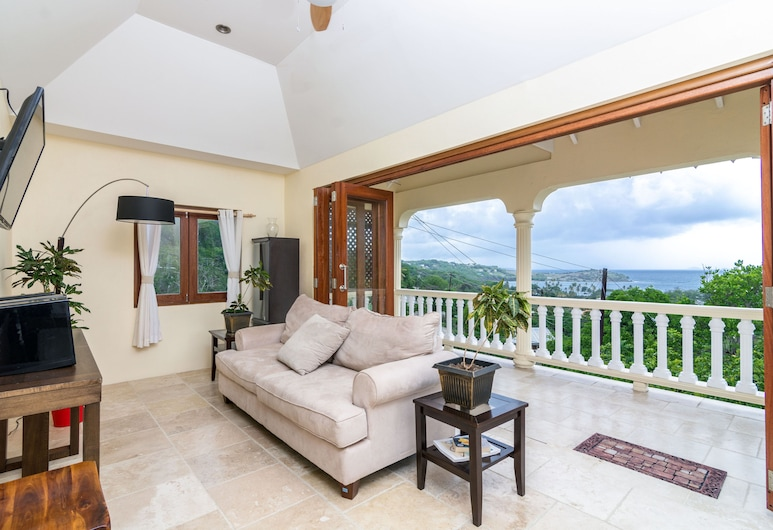 Sandrati Villa, Bequia Island, Luxury Villa, Ocean View, Living Room