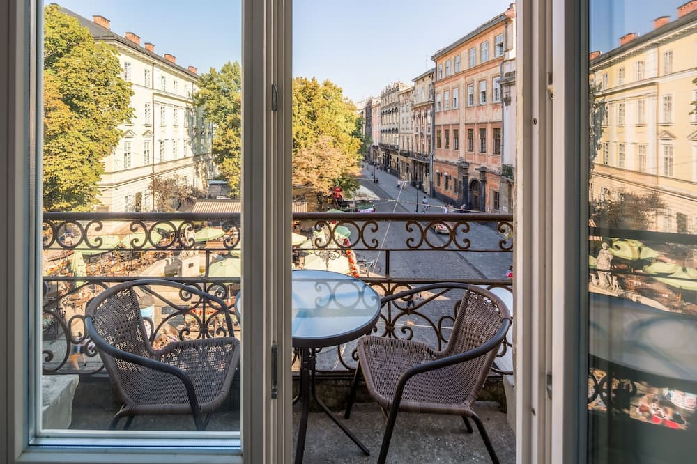 Apartament, 1 sypialnia (Rynok Square 11) - Balkon