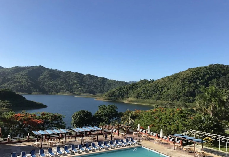 Hotel Hanabanilla, Manicaragua, Skats no viesnīcas