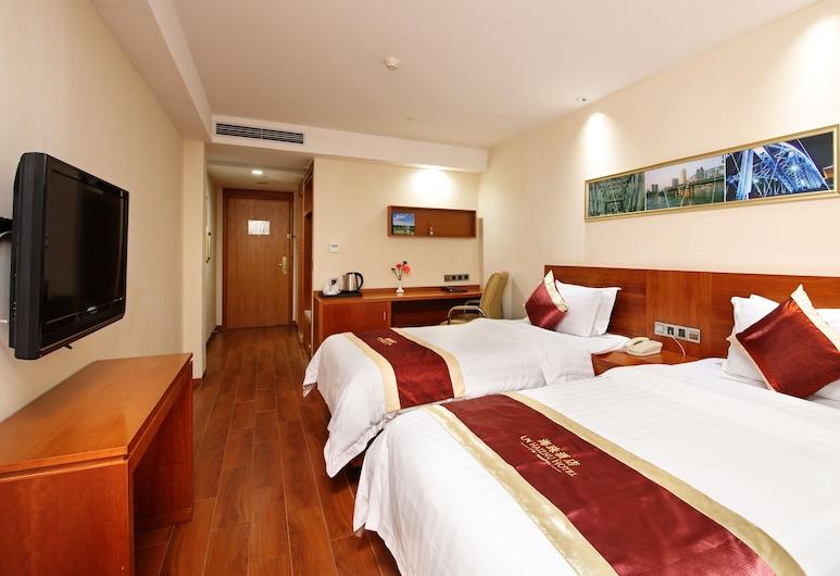 海珠酒店, 廣州市, 非吸菸標準雙床房, 客房