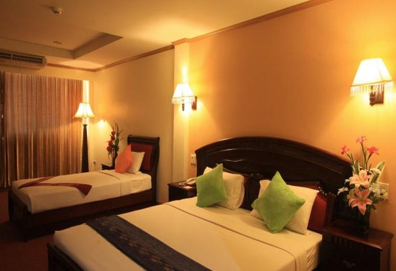 Winstar Hotel, Hat Yai, Family Room, Guest Room
