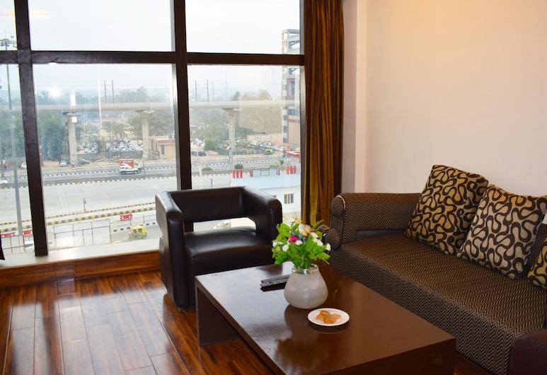 Hotel Sewa Grand Faridabad, Faridabad, Izba typu Deluxe s dvojlôžkom alebo oddelenými lôžkami, 1 spálňa, fajčiarska izba, Hosťovská izba
