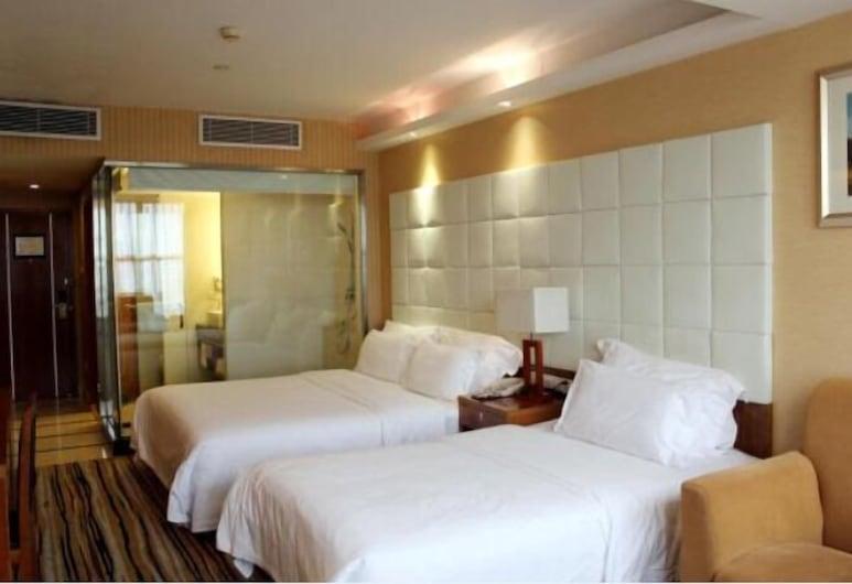 Railway Station Hotel West Building, Shenzhen, Luxury Twin Room, Guest Room