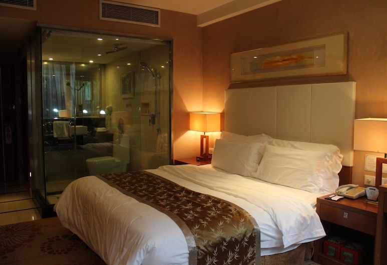 Railway Station Hotel Commercial, Shenzhen, Premium Single Room, 1 Queen Bed, Guest Room
