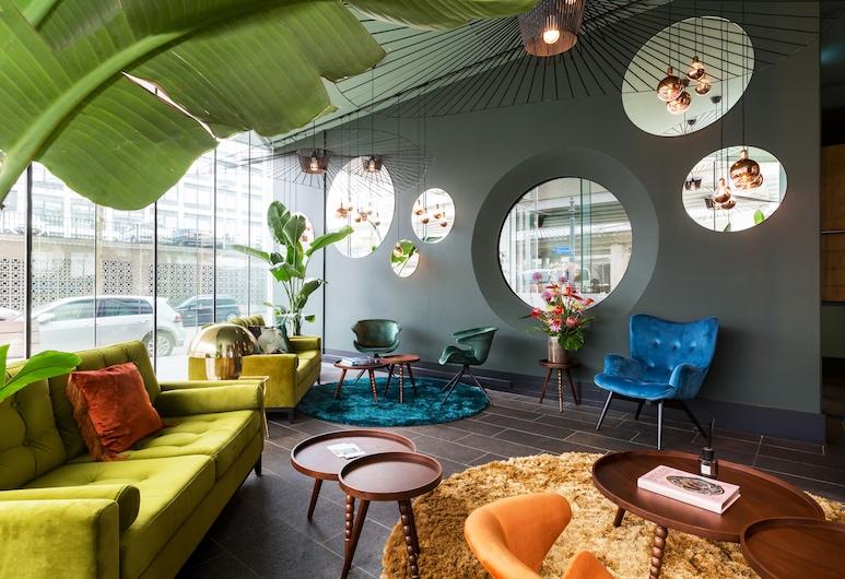 Hotel2Stay, Amsterdam, Bar-salon de l'hôtel
