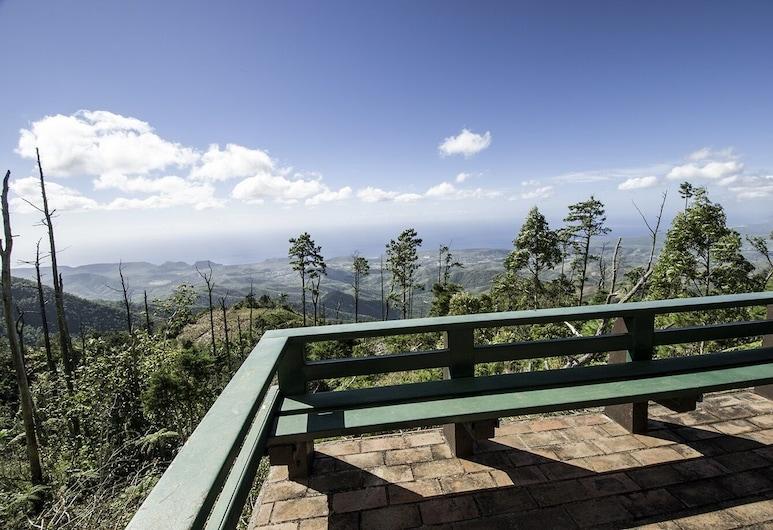LA Gran Piedra, Santiago de Cuba, Standard-Ferienhütte, Balkon