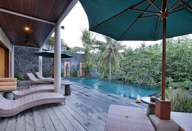 D'Legon Luxury Villas, Ubud, Naturpool