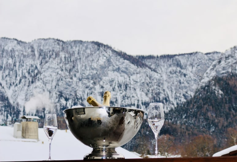 Hotel Platzl Inzell, Inzell, Habitación doble superior, 1 cama doble, balcón, vista a la montaña, Vista a la montaña