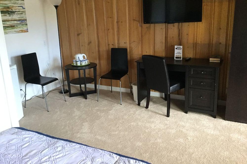 Номер «Делюкс», 2 двуспальные кровати - Зона гостиной
