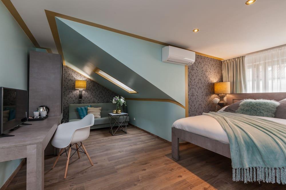 Executive-dobbeltværelse (with Shared Terrace) - Opholdsområde