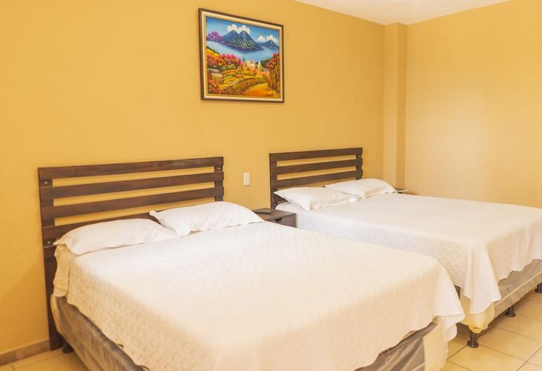 Euro Hostal, Guatemala City, Dvojlôžková izba typu Basic pre 1 osobu, Hosťovská izba