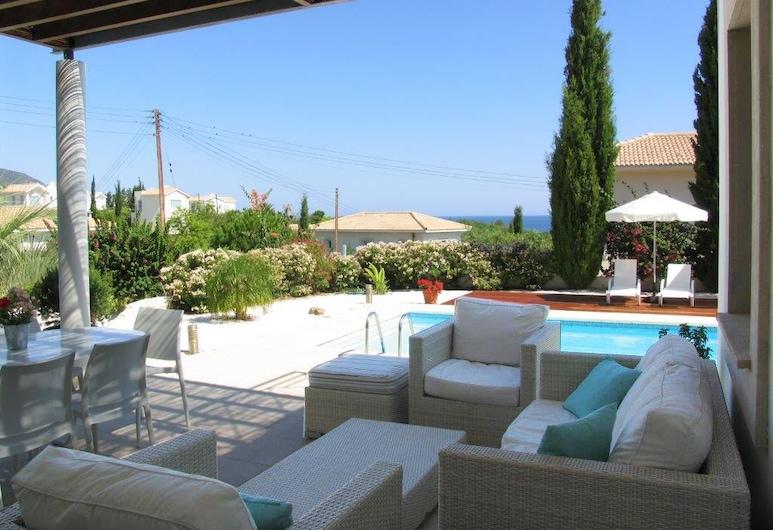 Carob Tree Villa, Neo Chorio, Vila, 3 spálne, súkromný bazén, Terasa