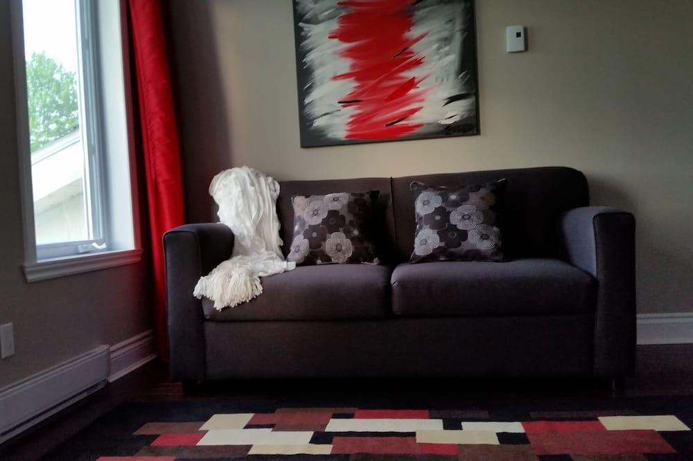Улучшенный люкс, отдельная ванная комната - Зона гостиной