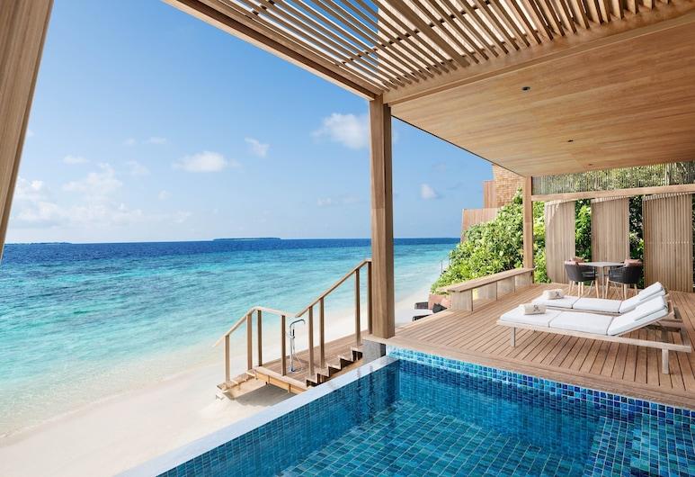 The St. Regis Maldives Vommuli Resort, Vommuli, Villa, 2 Bedrooms, Non Smoking, Private Pool, Bilik Tamu