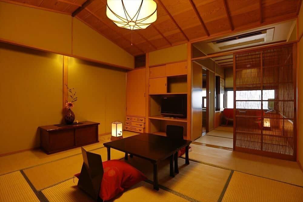 オーシャンフロント 和室 展望風呂付き 1 - 室内のダイニング