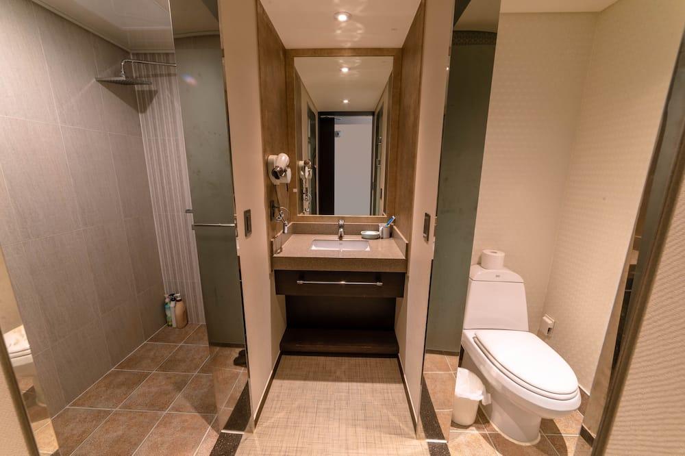 尊榮雙人房, 1 張標準雙人床 - 浴室淋浴
