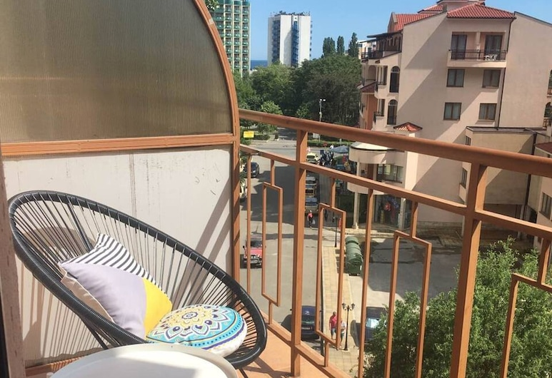 Sunny Sea Palace apartment, Sunny Beach, Apartment, Balcony