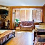 Departamento (Zhibek Zholy Street 103) - Sala de estar