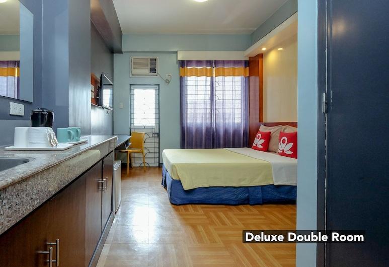 ZEN Rooms Basic Quirino Station, Manila, Dvojlôžková izba typu Deluxe, Hosťovská izba
