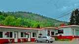 Nuotrauka: Boundary Creek Motel and RV Park, Grinvudas