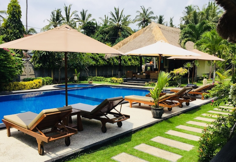Mutiara Bali, Karangasem, Bungalow, Quang cảnh phòng