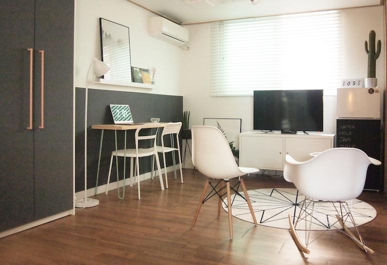 Gangnam AN Guesthouse - Hostel, Soul, Salonek ve vstupní hale
