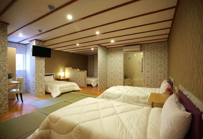 麗之湯溫泉會館, 台北市, 舒適四人房, 客房