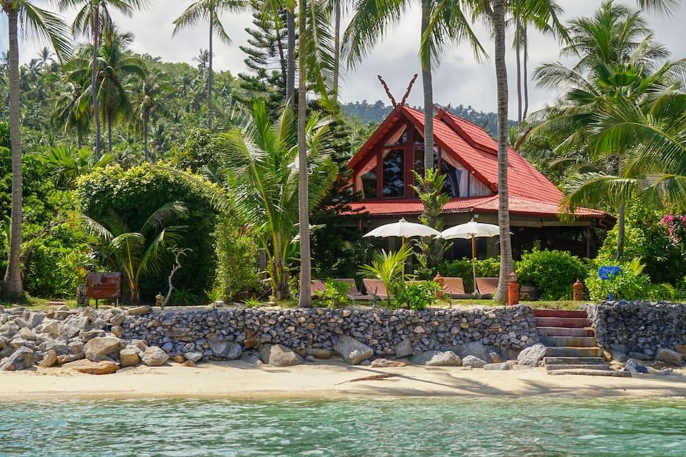 Villa Luxe, 3 chambres, terrasse, en front de plage - Chambre