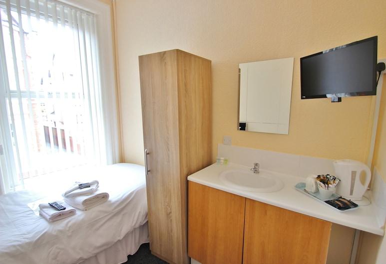 South Shore Hotel, Blackpool, Einzelzimmer, Gemeinschaftsbad, Zimmer