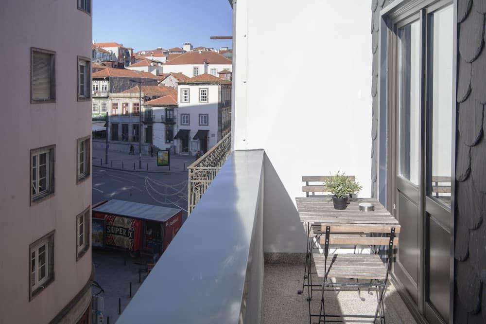 Deluxe studio apartman, pogled na grad - Balkon