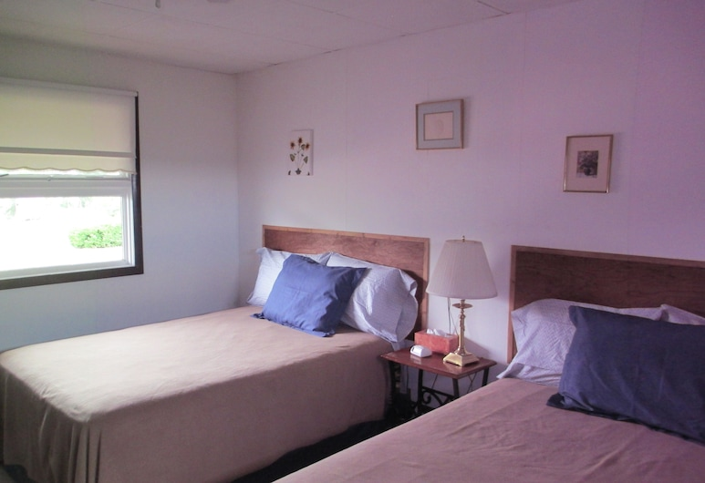Bad Axe Motel, Bad Axe, Standard Room, 2 Double Beds, Kitchenette, Guest Room