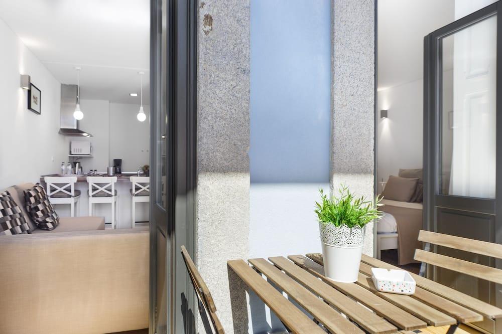 Standardní apartmán, 1 ložnice, balkon - Balkón