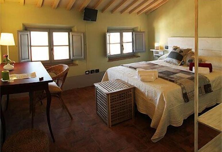 B&B Le Scalette di Piazza, Montalcino, Standard Tek Büyük Yataklı Oda (Valdorcia), Oda