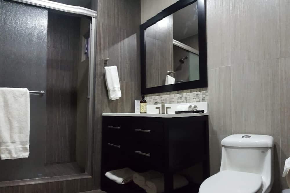 Standardstudio-suite - 1 kingsize-seng - handicapvenligt - udsigt til have - Badeværelse