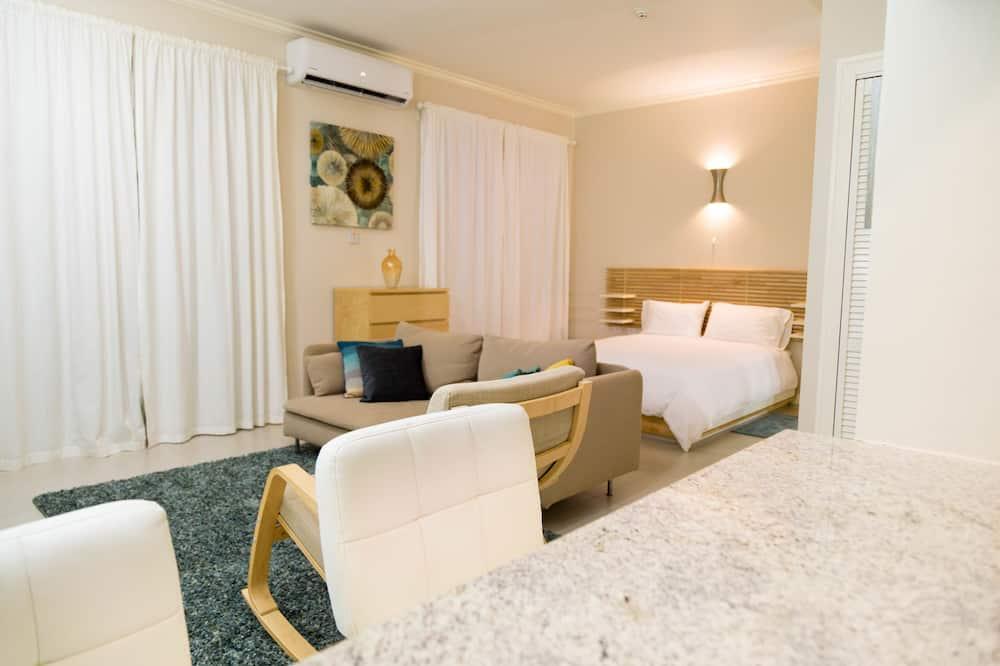 Superior appartement, 1 slaapkamer, en-suite badkamer - Kamer